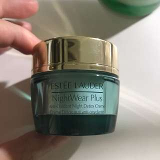 Estée Lauder nightwear plus night cream