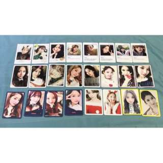 [SALE] Twice Official Photocards Likey, Signal, Knock Knock, Christmas