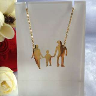 Bangkok Gold 10k Family Center Chain Necklace Not Pawnable