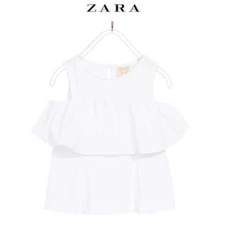 Zara cold shoulder top