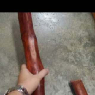 { FS138} 45 Inches Long Raja Kayu Rod