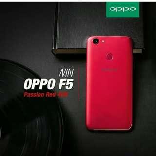 Oppo F5 Red bisa kredit syarat mudab