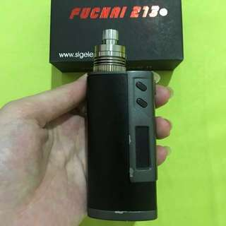 Sigelei Fuchai 213 (FREE battery dan charger battery)
