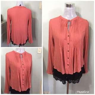 Forever21 longsleeves blouse medium