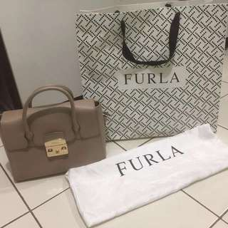 Furla satchel small