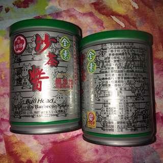牛頭牌素食沙茶醬 250g