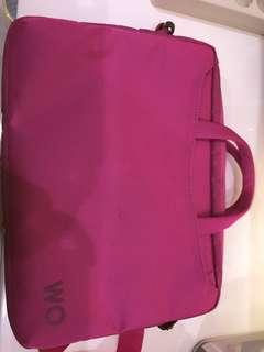 Tas notebook pink