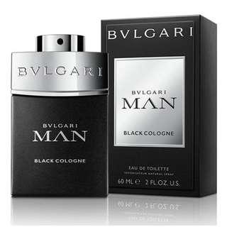 Bvlgari Man Black Cologne EDT for Men (60ml/100ml Tester) Bulgari in