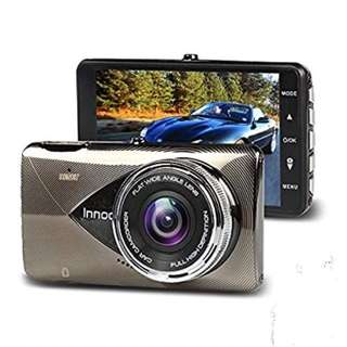 Innoo Tech 1296P Full HD Night Vision Dash Car Camera, 170°Ultra Wide Angle, G-sensor, Motion Detection, LDWS & FCWS, Parking Mode