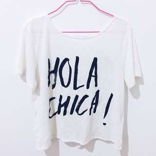 Hola Chica! Shirt (H&M)