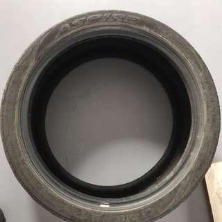 Car tyres 225/40 R18