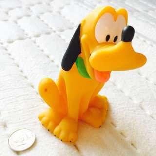 Disney Happy Pluto - 5 inches tall
