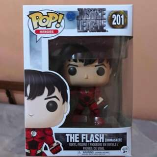 (ON HAND) The Flash Unmasked Justice League Funko Pop
