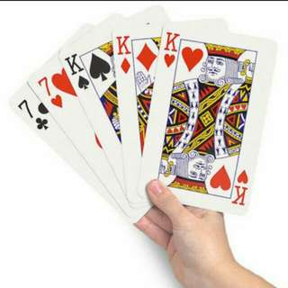 Big Size Playing Cards