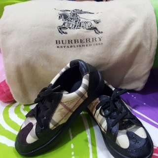 Auth Burberry Boy's Shoes