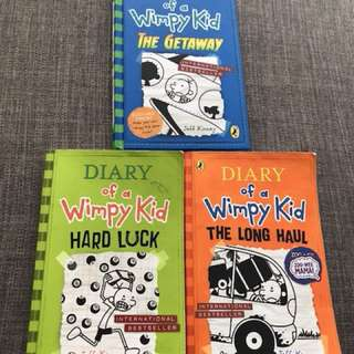 3xDiary Of A Wimpy Kid & 2xTreehouse Story