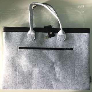 Brand New Felt Laptop Bag