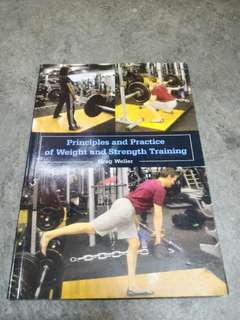 Principles and Practice of weight and strength training #POST1111