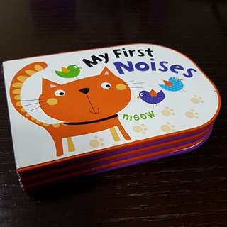 My first noises baby toddlers UK children book