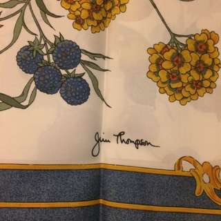 Jim Thompson vintage scarf