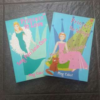 The Princess Diaries Series (buku 2 dan 3)