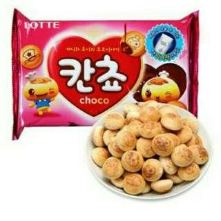 🚚 韓國樂天lotte巧克力球餅乾家庭經濟包