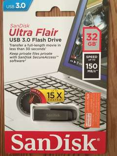 Sandisk Ultra Flash Drive USB 3.0 (32GB)