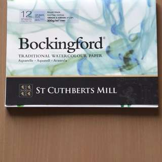 Bockingford 300 gsm water color paper