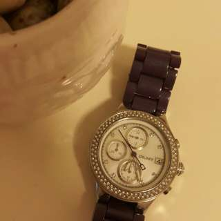 DKNY Watch with stones