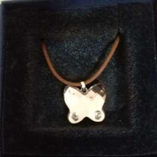 Swarovski butterfly necklace