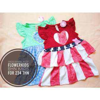 Dress Rampel Motif Flowerkids