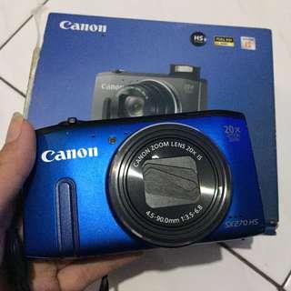 Digital Camera Canon SX270 HS Blue