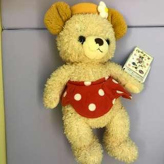 🆕 Disney Minnie Cuddly Bear
