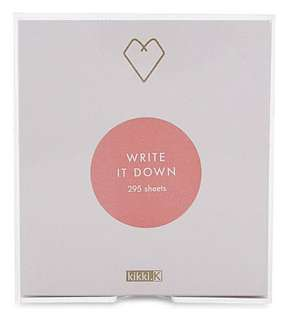Kikki K Note Sheets w/ Acrylic Box