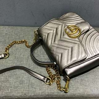 Gucci Marmont GG Grey Color