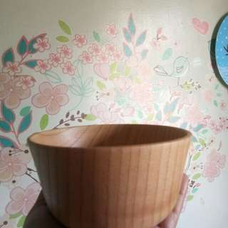 Wooden bowl from Japan