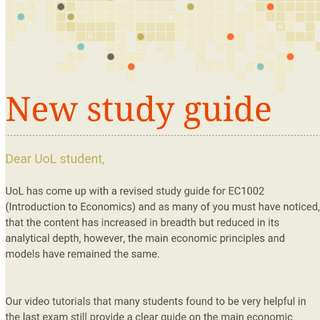UOL INTRO TO ECONS VIDEOS
