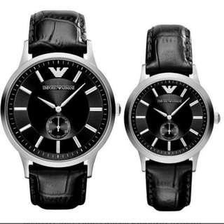 EMPORIO ARMANI AR9100 情侶手錶