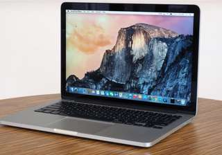 "Macbook Pro (with retina display, ""13 inches)"