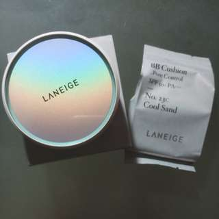 Laneige BB Cushion Pore Control 23C Cool Sand