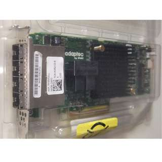 Adaptec 78165 SAS/SATA 6Gb/s PCIe Gen3 RAID Card with build in Cache Memory 1GB