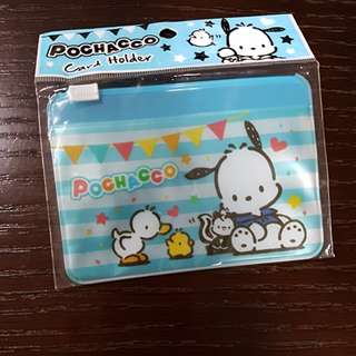 BN sanrio authentic pochacco pouch ex link zip