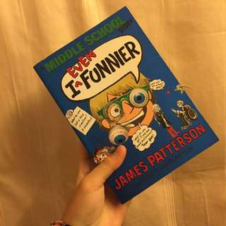🌸I (even) funnier by James Patterson