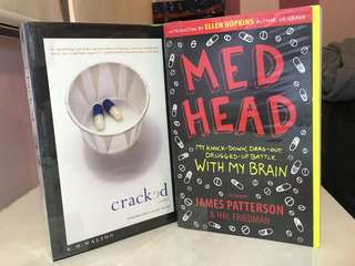 Med Head by James Patterson & Cracked by K.M Walton