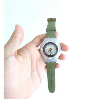 D08 Swatch irony scuba 200 aluminium