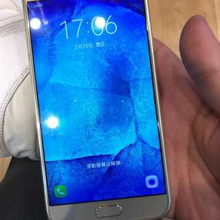 samsung a8 100%work 16gb 900%new