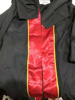 Temasek Poly Graduation gown
