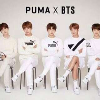 Bts Puma Clothes