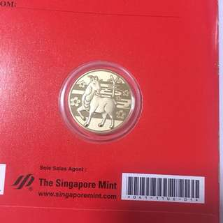 The Singapore Mint-Year of Goat