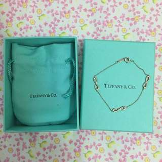 TIFFANY&Co. INFINITY 無限的愛 Endless 925純銀手鍊